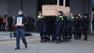 'Mozart' gemisinde yaşamını yitiren Azerbaycanlının cenazesi Bakü'ye getirildi