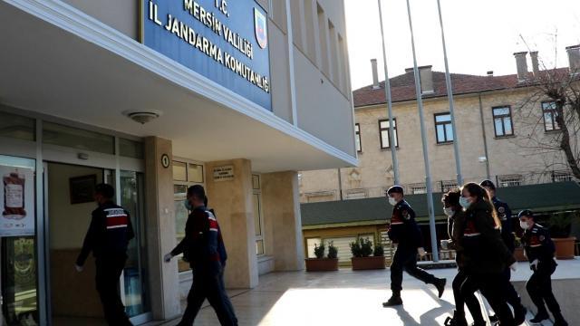 Mersinde gasp iddiasıyla yakalanan 4 zanlıdan 3ü tutuklandı