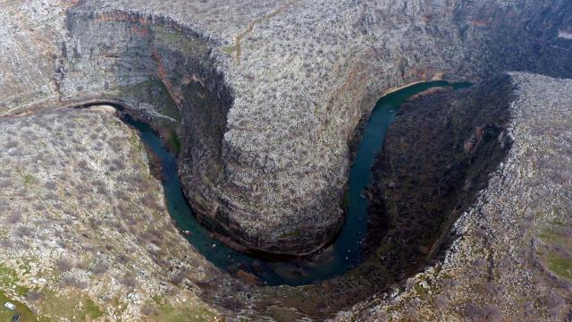 Gaziantepin Saklı Cenneti: Habeş Kanyonu