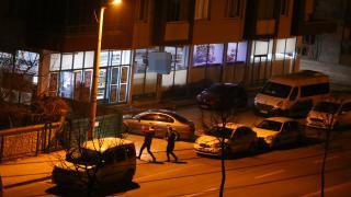 Konya'da, iki şüpheli tuvaletine gizlendikleri marketi soydu