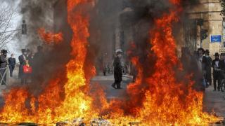 Ultra-Ortodoks Yahudilerin karantina karşıtı protestosu