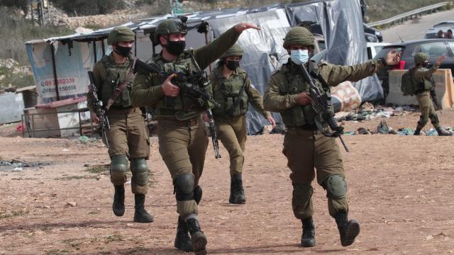 İsrail askerleri bir Filistinliyi yaraladı, 5 kişiyi gözaltına aldı