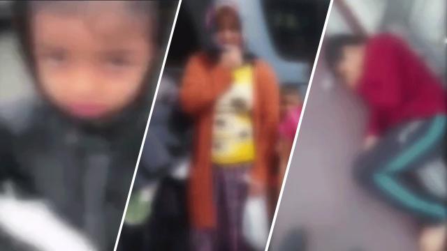 İstanbulda çocuklarını dilendiren ailelere operasyon