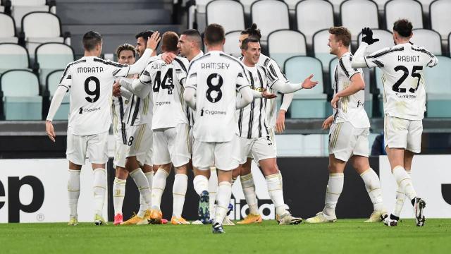 İtalya Kupasında Juventus yarı finale yükseldi
