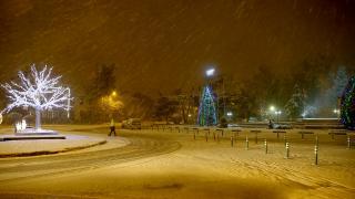 Meteoroloji turuncu uyarı vermişti: Trakya'da kar başladı