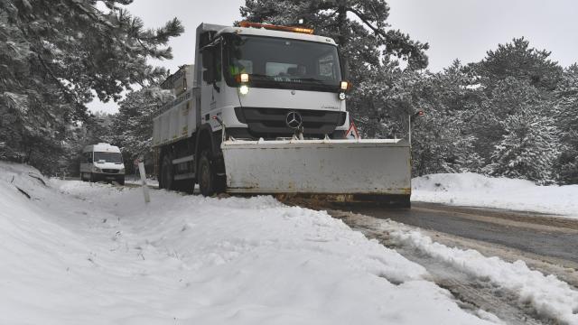 Sivasta kar nedeniyle 438 köye ulaşım sağlanamıyor