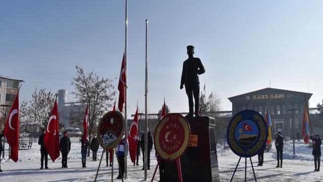 Şark Fatihi Kazım Karabekir, Karsta anıldı
