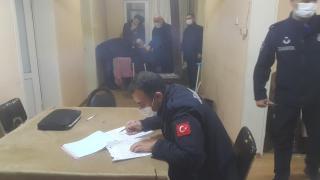 Düzce'de evde kumar oynayan 17 kişiye para cezası