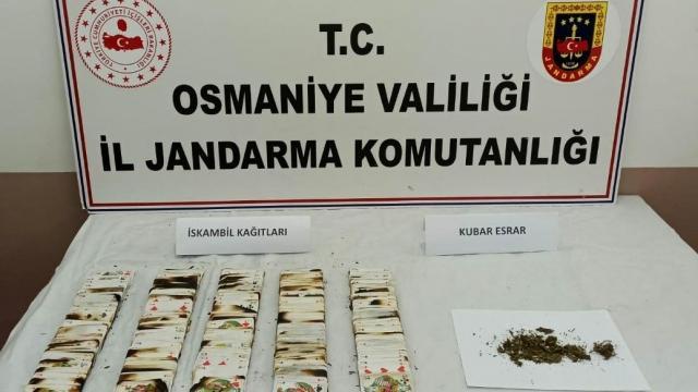 Osmaniyede kumar oynayan 31 kişiye 106 bin lira ceza kesildi