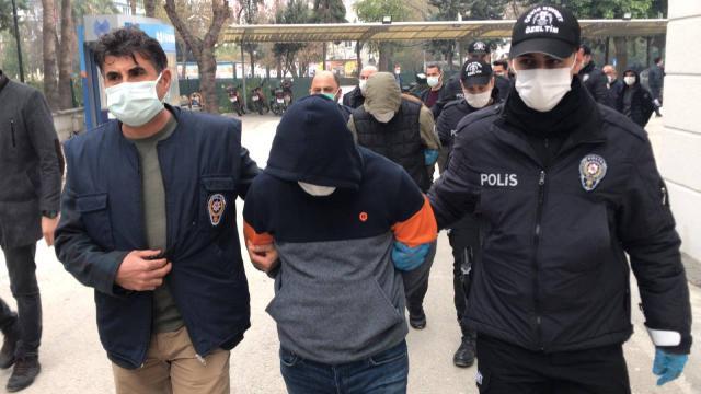 Antalyada uyuşturucu ticareti iddiasıyla 4 zanlı tutuklandı