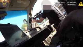 ABD'de, rehin alınan bebeği kurtarma operasyonu polis kamerasında