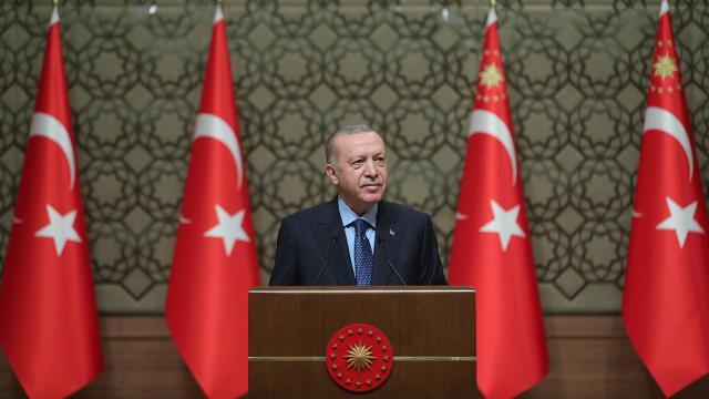 Cumhurbaşkanı Erdoğan: 3 yenilikçi aşı adayımız faz çalışmalarına başlama arifesinde
