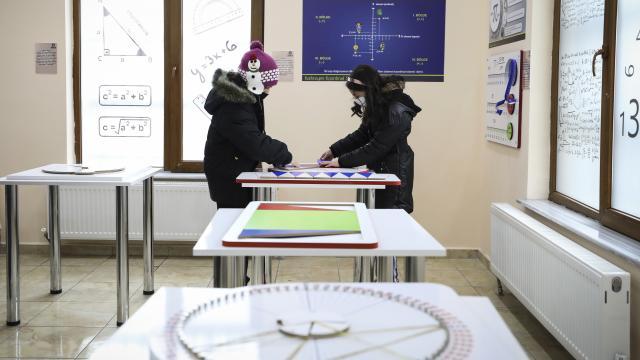 Sincanda gençlere yönelik Matematik Müzesi açıldı
