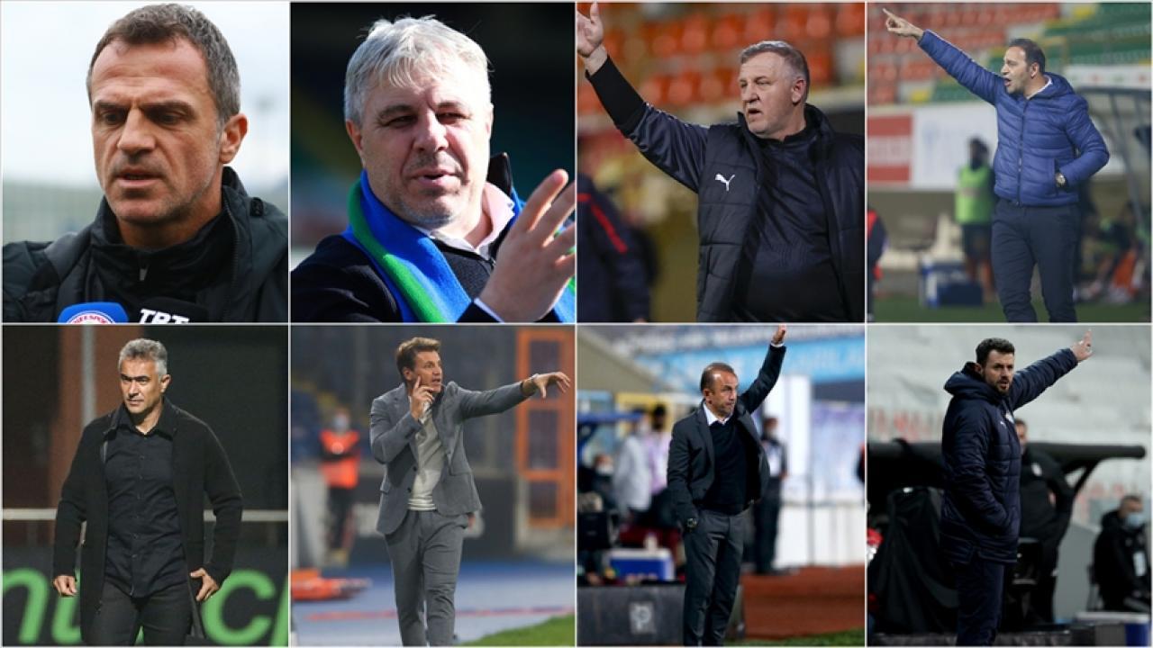 Süper Lig'de 11 teknik direktör değişti