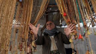 Erbil'in tarihi tesbih pazarı eski canlılığını arıyor