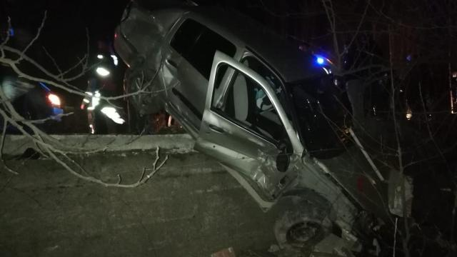 Tokatta otomobil şarampole devrildi: 3 yaralı