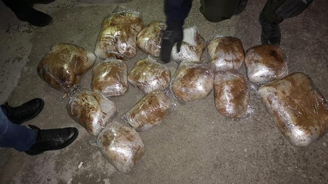 Malatya'da 22 kilogram esrar ele geçirildi