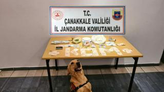 Çanakkale'de uyuşturucu operasyonu: 5 gözaltı