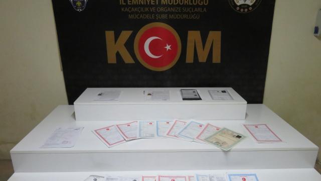 Bursa merkezli tapu dolandırıcılığı operasyonunda 16 şüpheli yakalandı