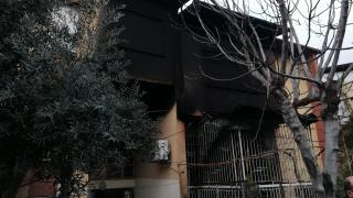 Aydın'da çıkan ev yangınında 1 kişi ağır yaralandı