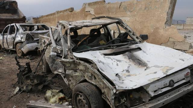 Afrinde saldırı: 5 çocuk yaralı