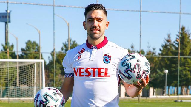 Bakasetas resmen Trabzonsporda