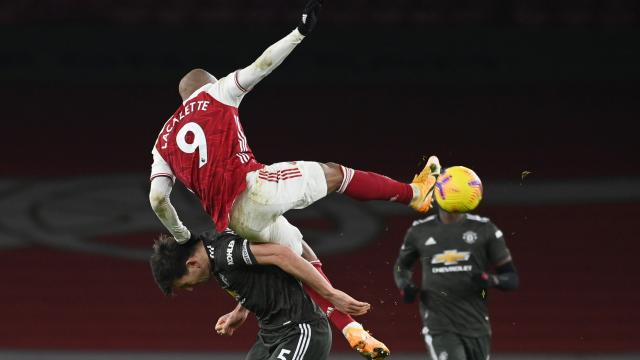 Arsenal-Manchester United maçı golsüz bitti