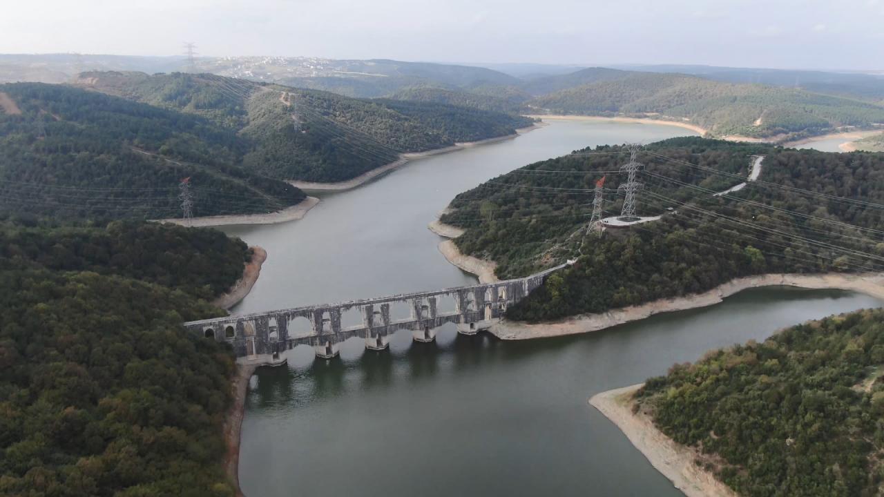İstanbul barajlarında seviye yüzde 55'i geçti