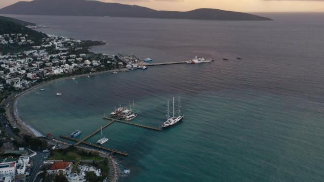 Bodrumda duyulan yüksek sesle ilgili açıklama: Yunan Adalarından geliyor