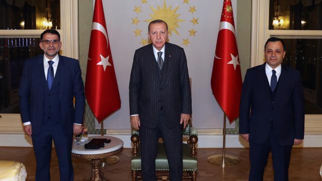 Cumhurbaşkanı Erdoğan, Kuzey Makedonya Anayasa Mahkemesi Başkanını kabul etti