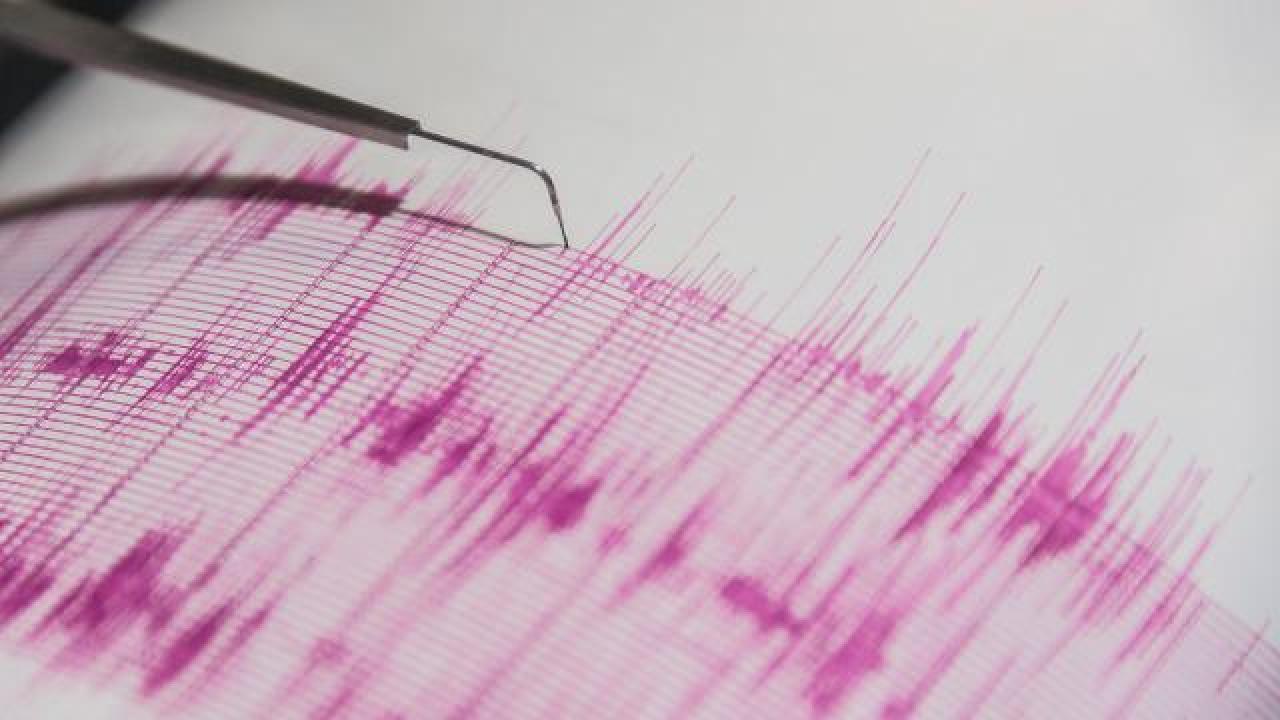 Akdeniz'de 4,1 büyüklüğünde deprem