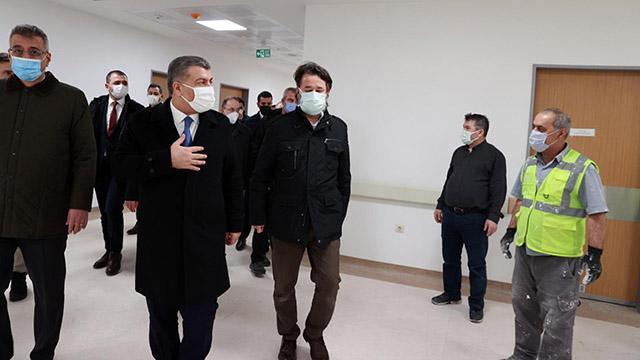 Bakan Koca: Seyrantepe hastanemiz mart ayı içinde hasta kabulüne başlayacak
