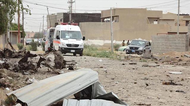 Irakta polis karakoluna bomba yüklü araçla saldırı