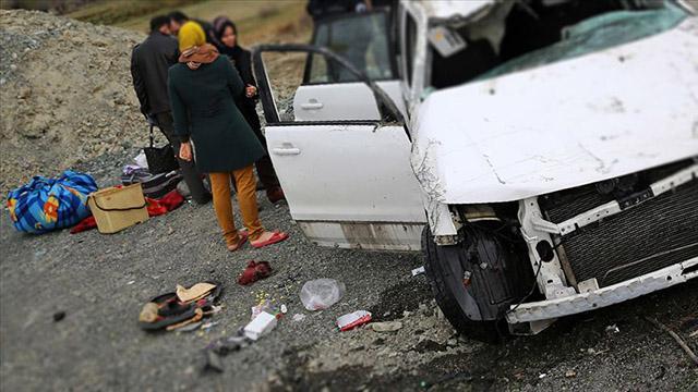 İranda zincirleme trafik kazası: 5 ölü