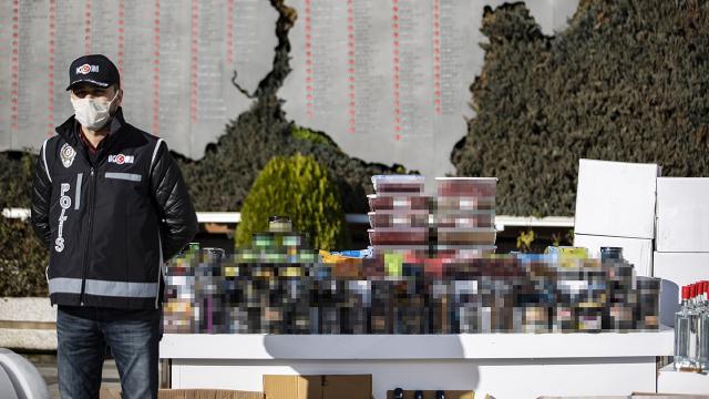 İstanbulda kaçakçılık operasyonu: 7 gözaltı