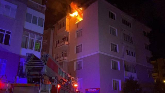 Konyada yangın: 2 ölü