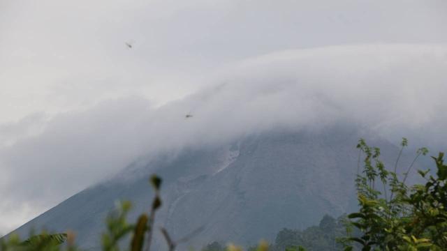 Endonezya Jeofizik Merkezi, Merapi Yanardağı için uyarıda bulundu