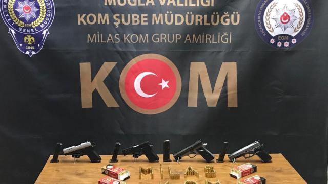 Muğlada uyuşturucu operasyonu: 4 zanlı tutuklandı