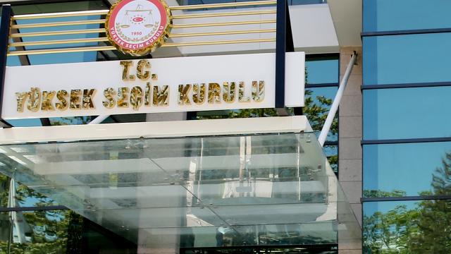 YSK, seçimlere girme yeterliliğine sahip partileri açıkladı