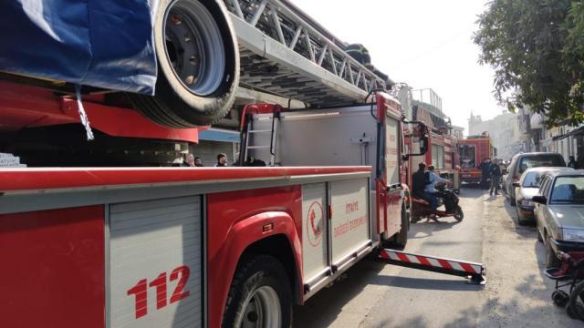 Niğdede ahırda yangın: 171 kuzu telef oldu