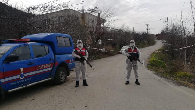 Gaziantepte bir mahalle karantinaya alındı