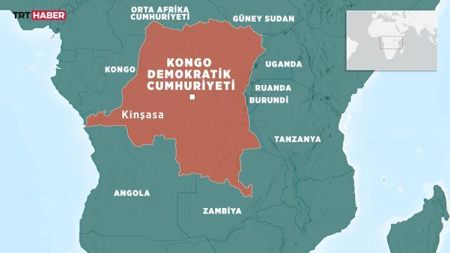 Kongo Demokratik Cumhuriyetindeki tekne faciasında can kaybı 61 oldu