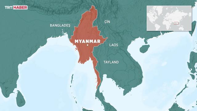 Myanmarda elektrik şirketinin ofisinde bomba patladı: 7 yaralı