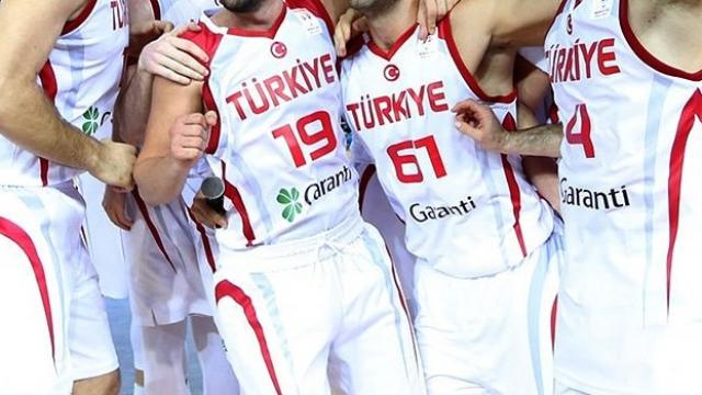 A Milli Erkek Basketbol Takımı yarın İsveç ile karşılaşacak