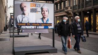 İtalya'da son 24 saatte 246 kişi salgından hayatını kaybetti