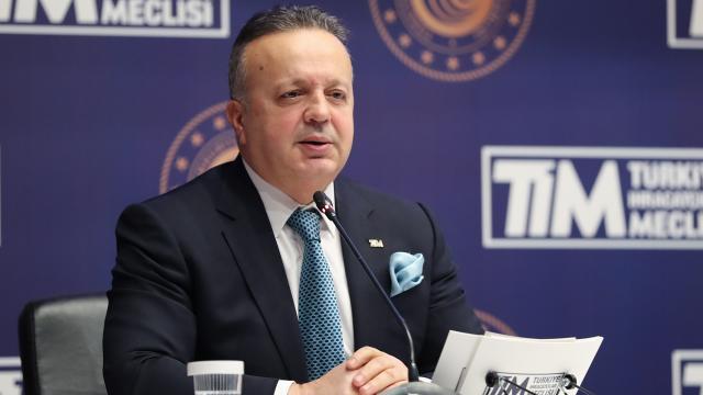 TİM Başkanı Gülle: Türkiyeyi 5 senede 300 milyar dolar ihracata taşıyacağız