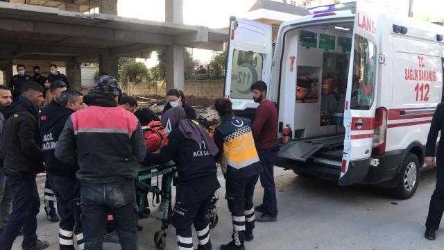 Konyada otomobil şarampole düştü: 2 yaralı