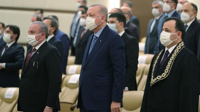 Cumhurbaşkanı Erdoğan, İrfan Fidanın yemin törenine katıldı