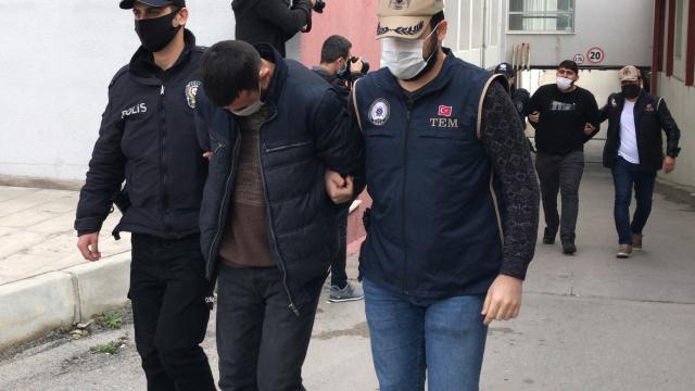 Adanada terör örgütü El Kaideye yönelik operasyonda yakalanan 6 zanlıdan 5i tutuklandı