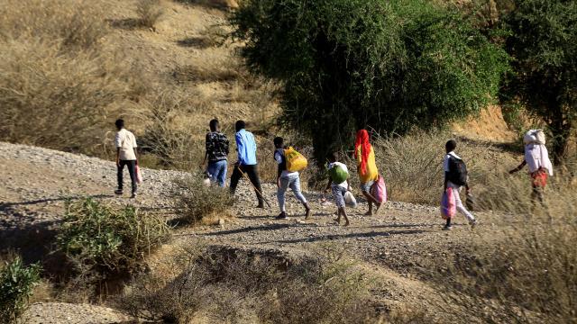 Etiyopyadan Sudana sığınanların sayısı 71 bini geçti